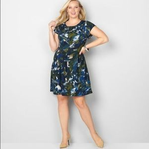 Avenue fit and flare dress.